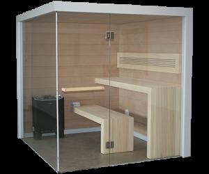 Sauna Perfect Line Nowoczesny Klasyk