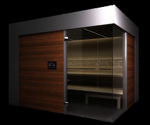 Sauna BestLine front